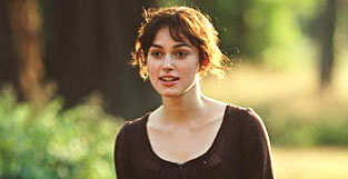 I've been  waiting my whole life to play Elizabeth Bennet ... and to hear what Adam  and Sam would say about me.